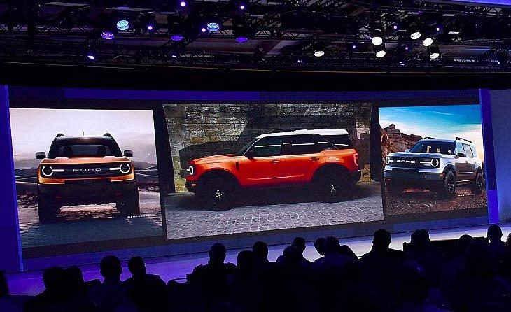 "Fotografije Fordovog ""Baby Bronco"" modela procurele na internet"