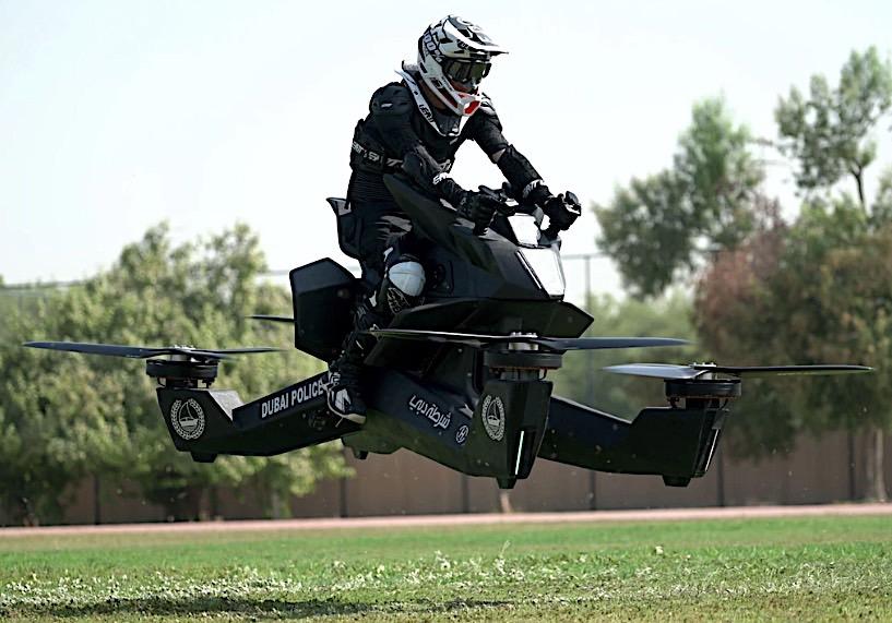 Policija u Dubaiju će koristiti leteće motocikle