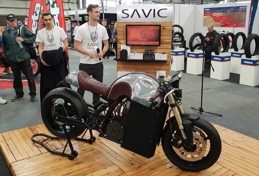 Savić Motorcycles debitovao u Melburnu