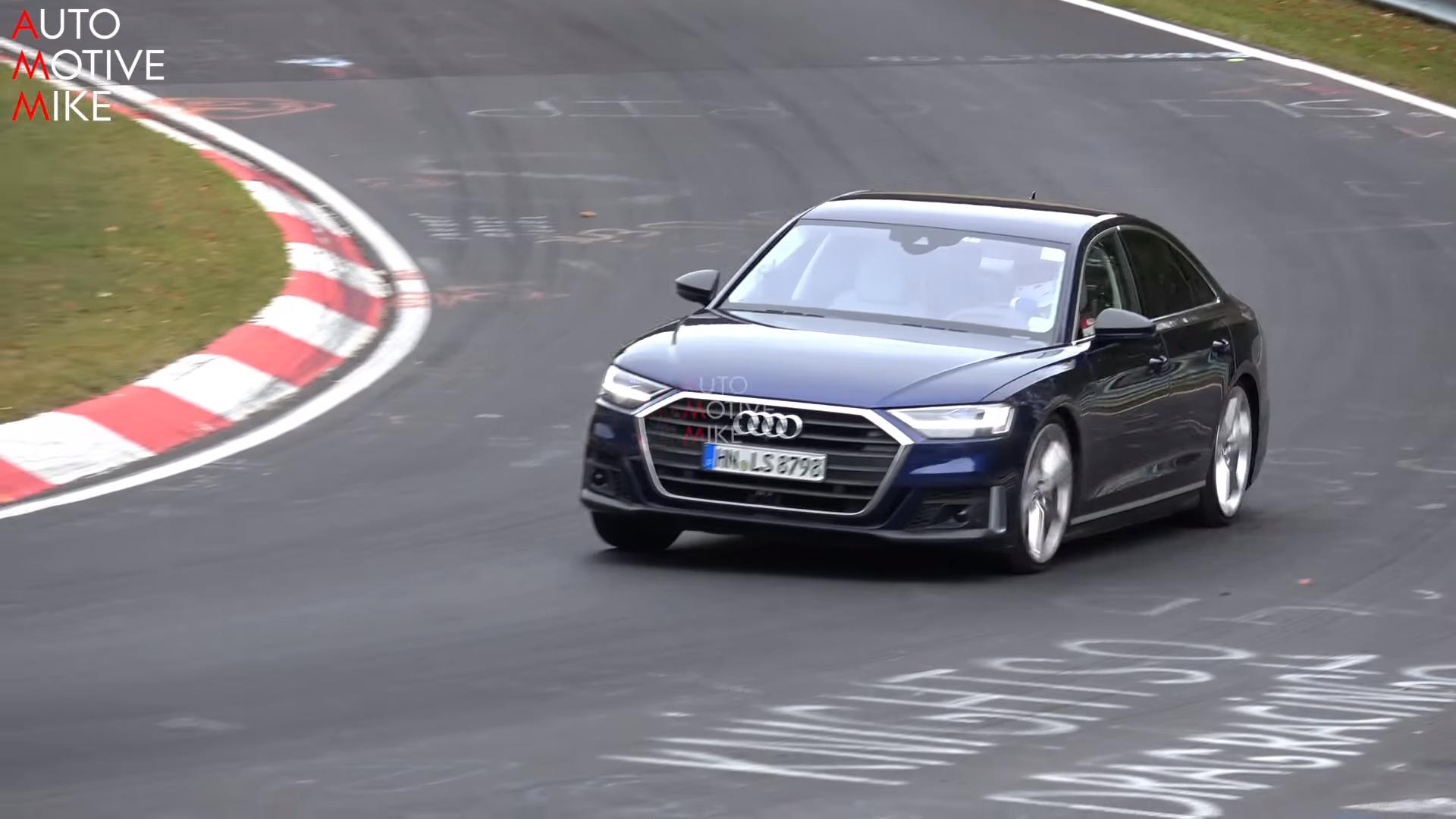 Audi S8 (2019.) na Nirburgringu (VIDEO)