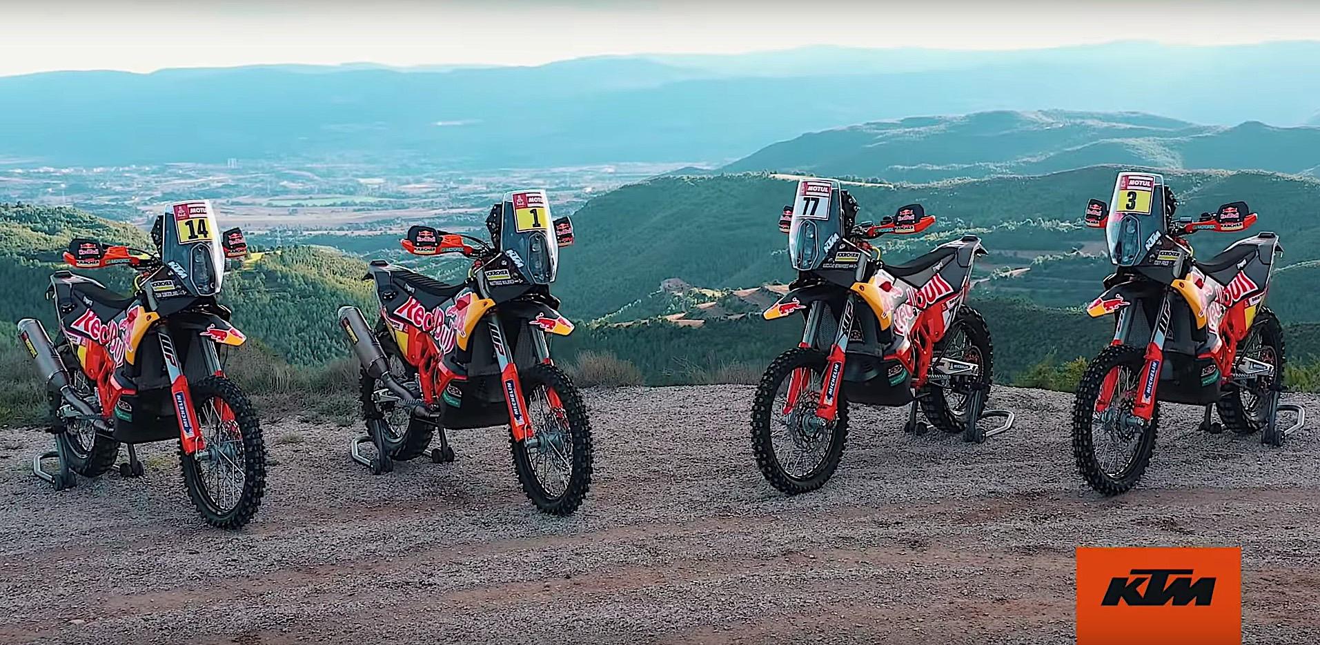 Red Bull KTM Factory Racing predstavio motocikl i postavu za Dakar reli 2019.