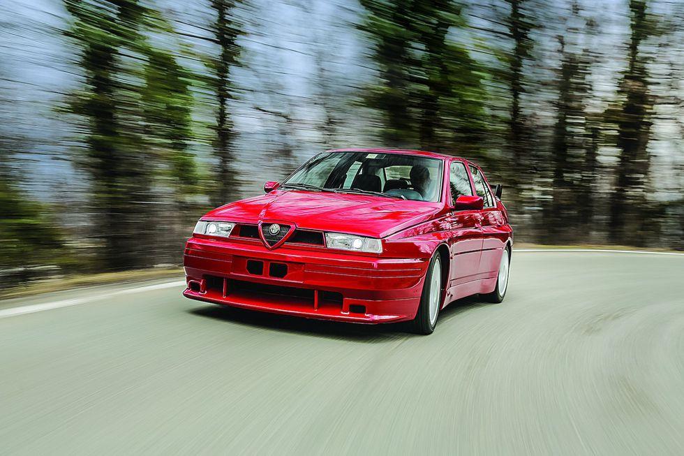 Zanimljivost dana: Alfa Romeo 155 GTA Stradale