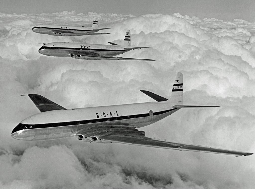 DeHavilland Comet – prvi putnički avion na mlazni pogon