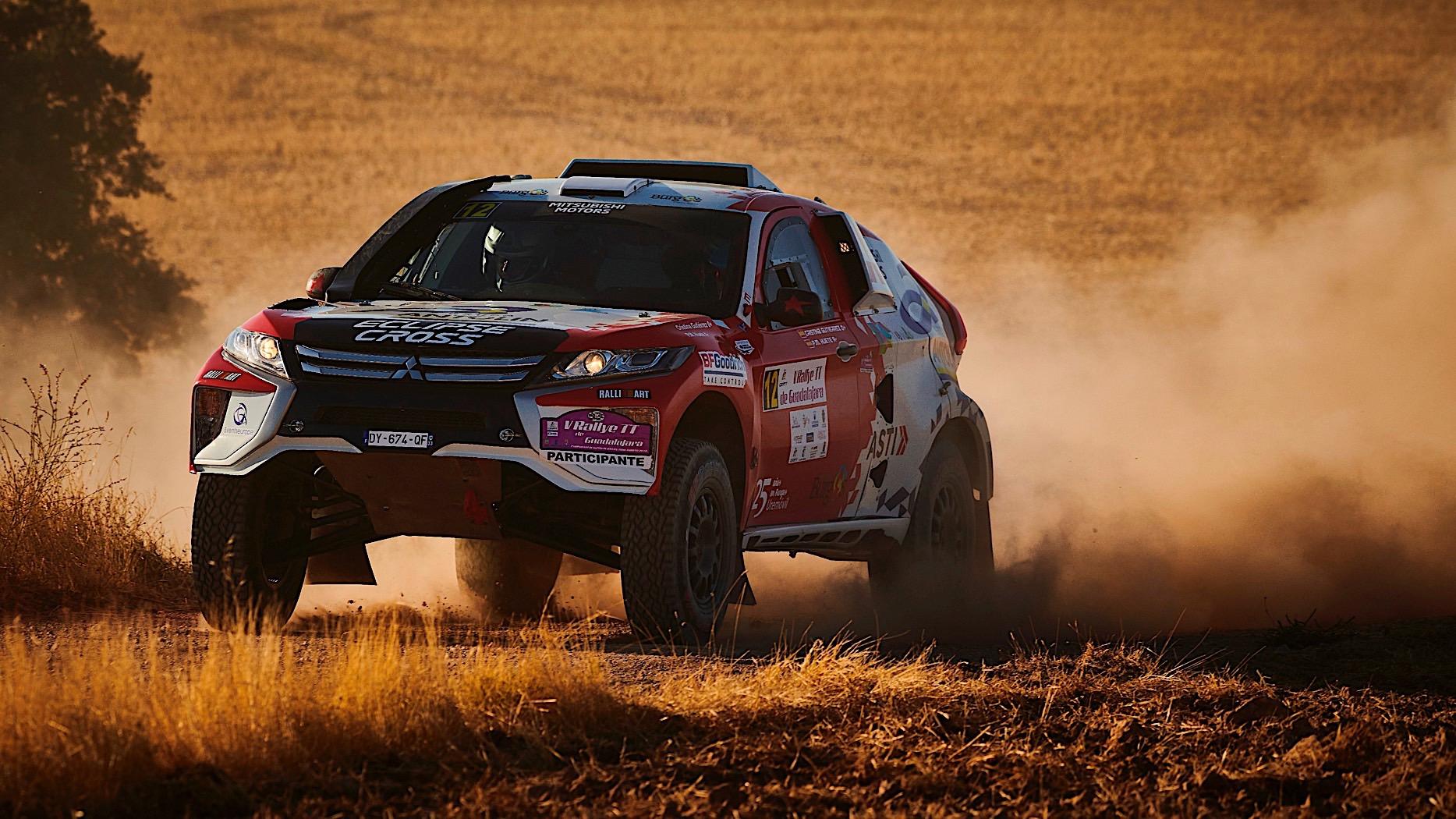 Mitsubishi Eclipse Cross zamenjuje Pajera Evolution na Dakar reliju