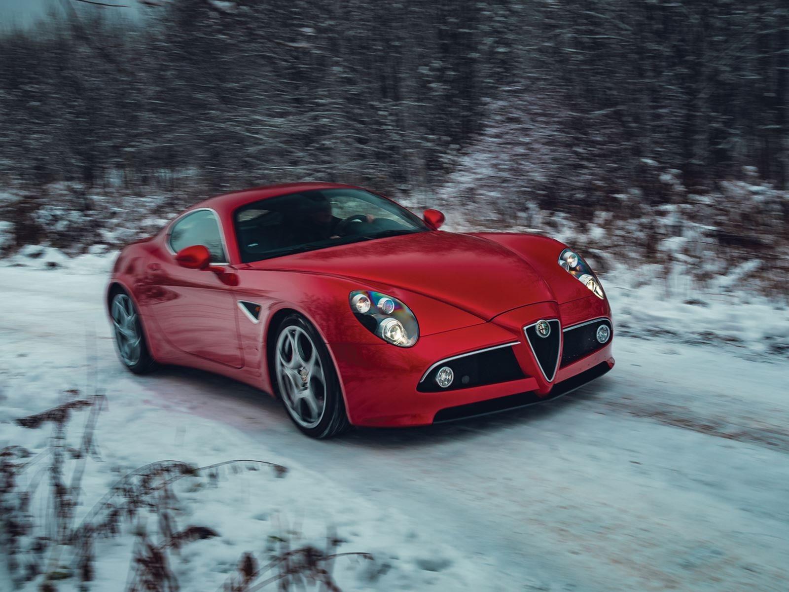 Alfa Romeo 8C Competizione – Le Grande Belleza