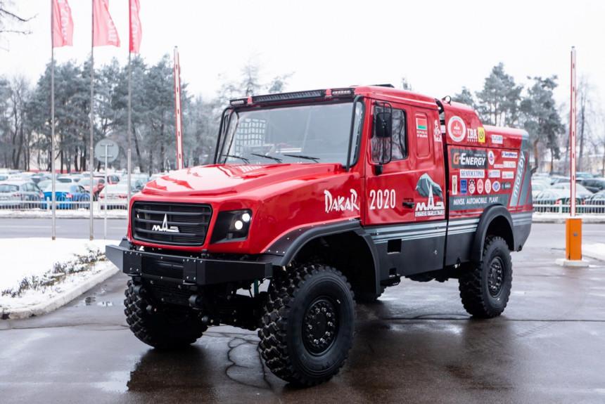 MAZ predstavio svog kandidata za Dakar 2020.