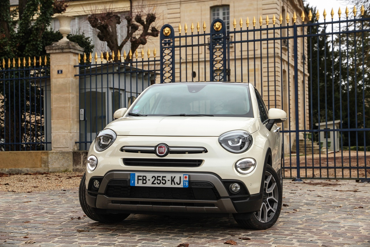 Fiat 500X 1.3 GSE – Zatezanje bora