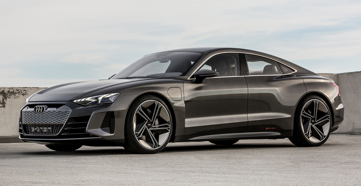 Audi e-tron GT sedan koncept (2021.)