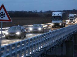 Behelfsbrücke für Ostseeautobahn A20 freigegeben
