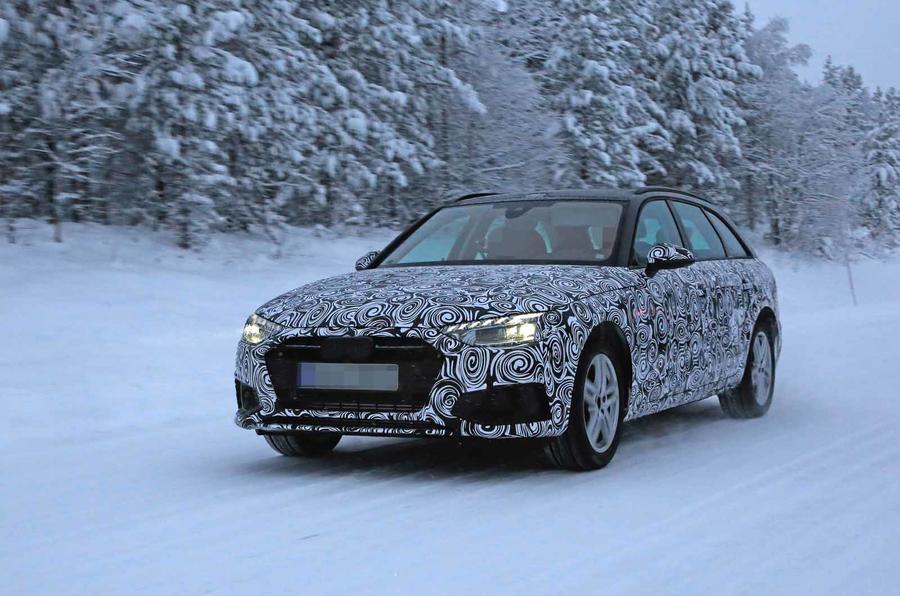 Audi A4 pred temeljnom restilizacijom za modelnu 2020. godinu