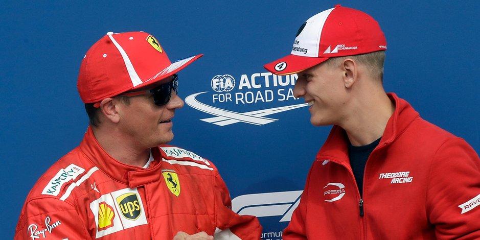 Mik Šumaher u Ferrariju