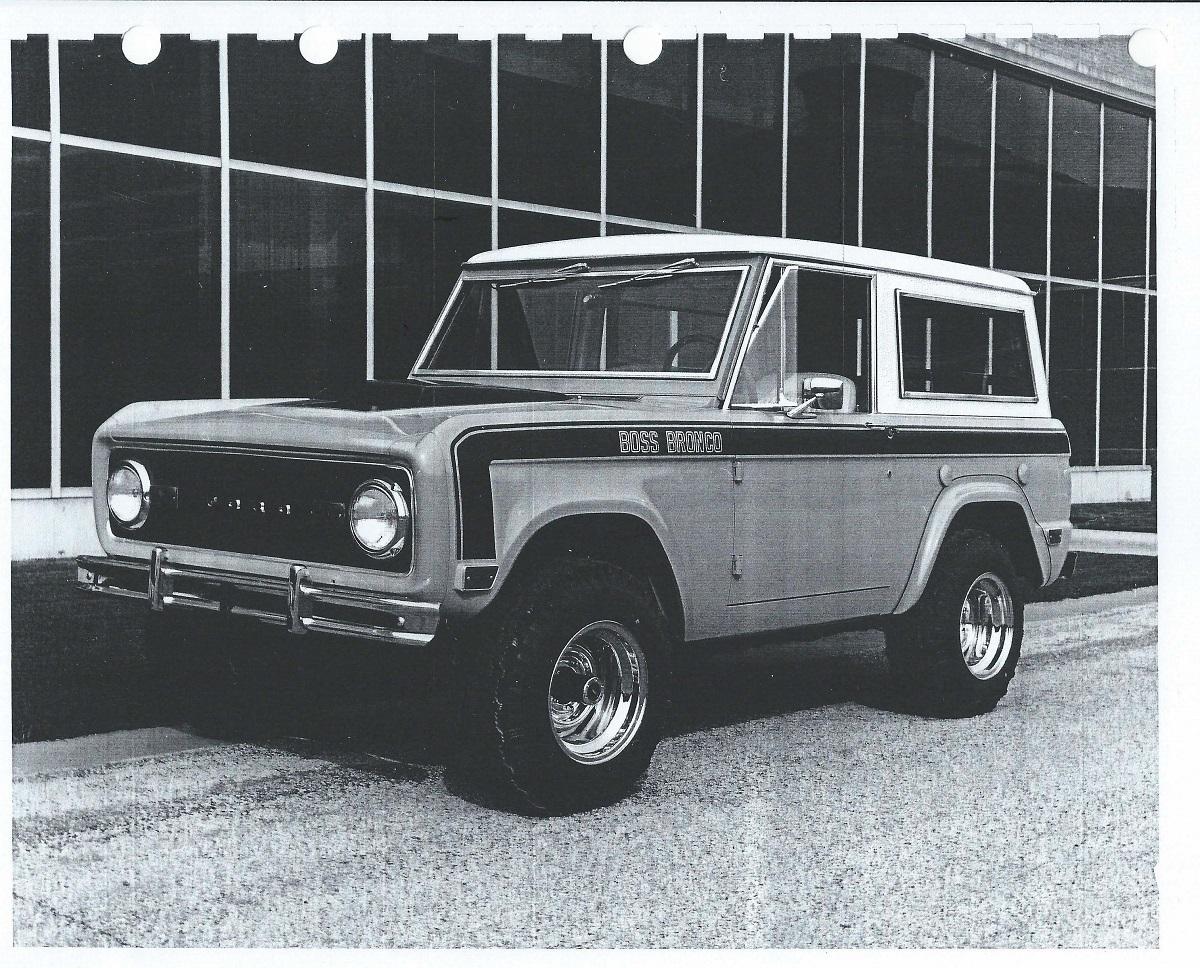 Zanimljivost dana: Ford Bronco Boss