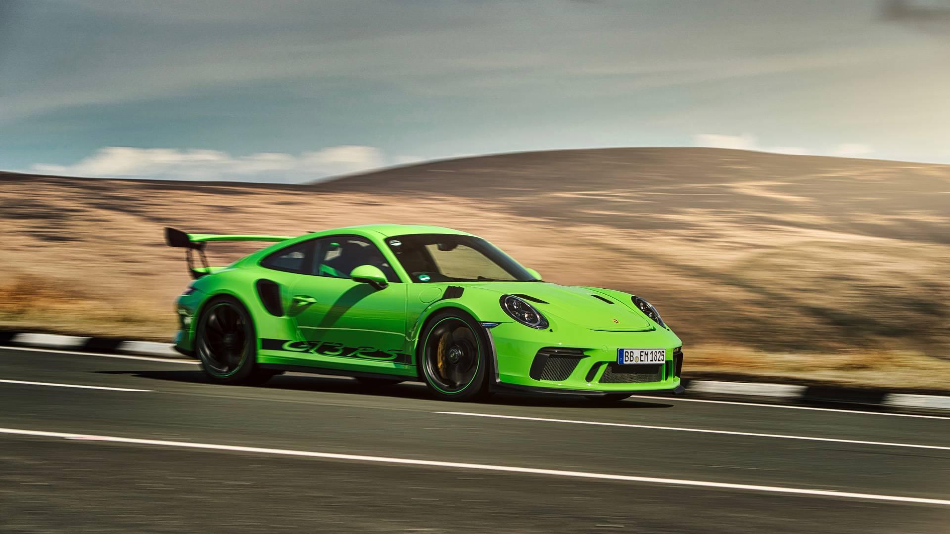 Novi Porsche 911 GT3 RS dobija motor s nešto većom radnom zapreminom