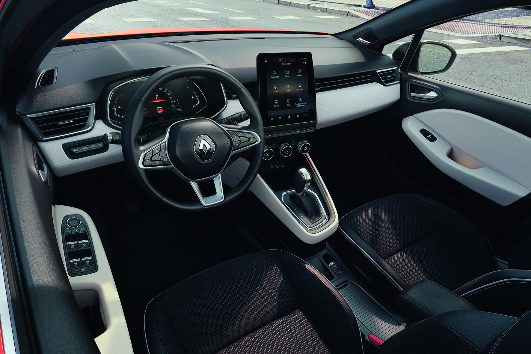 Renault Clio V – enterijer (GALERIJA)