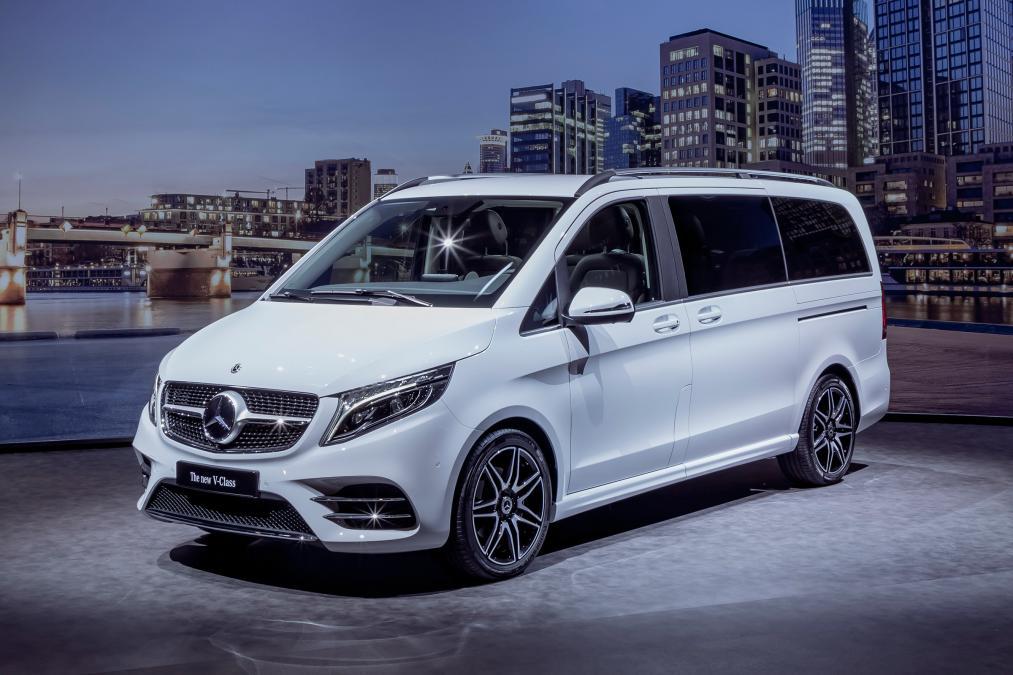 Mercedes predstavio restilizovanu V klasu
