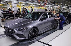 Nach Weltpremiere auf der CES 2019: Mercedes-Benz startet Produktion des neuen CLA CoupésAfter the world premiere at CES 2019: Mercedes-Benz starts production of the new CLA Coupé