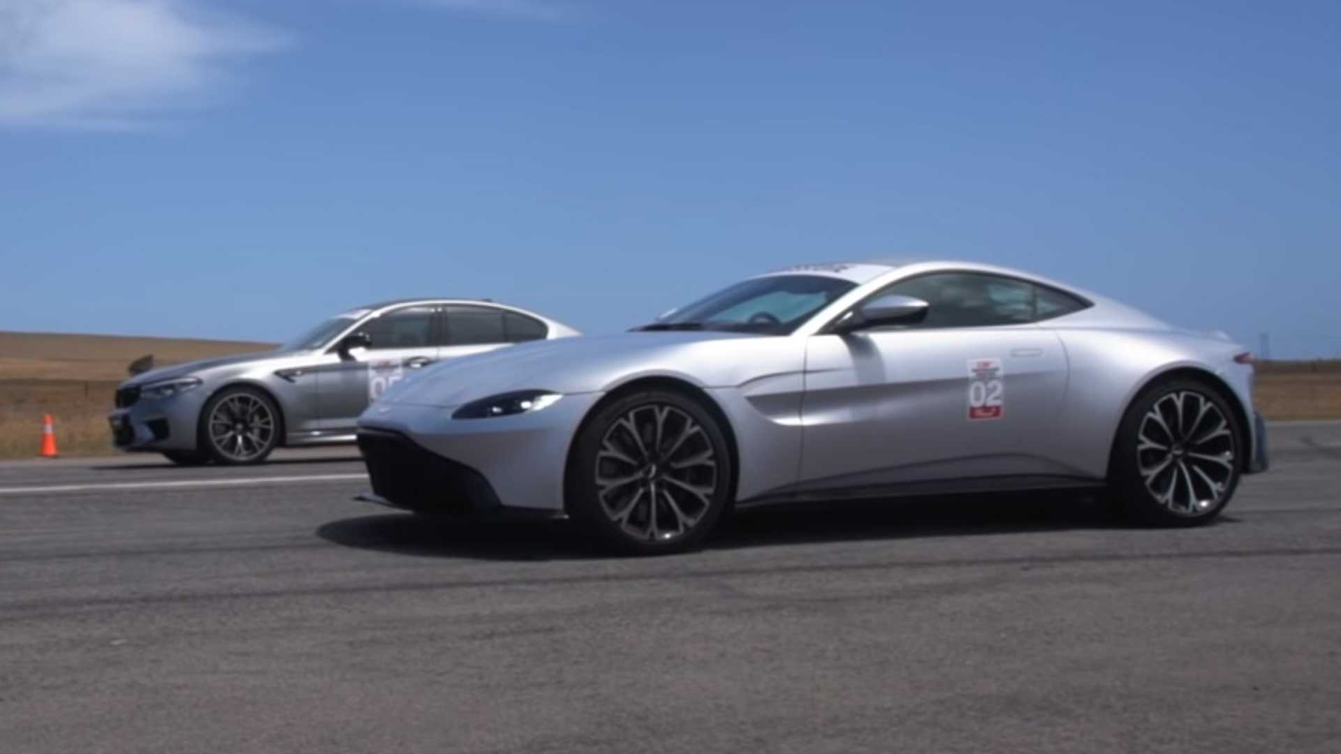 BMW M5 Competition oduvao Aston Martin Vantage (VIDEO)