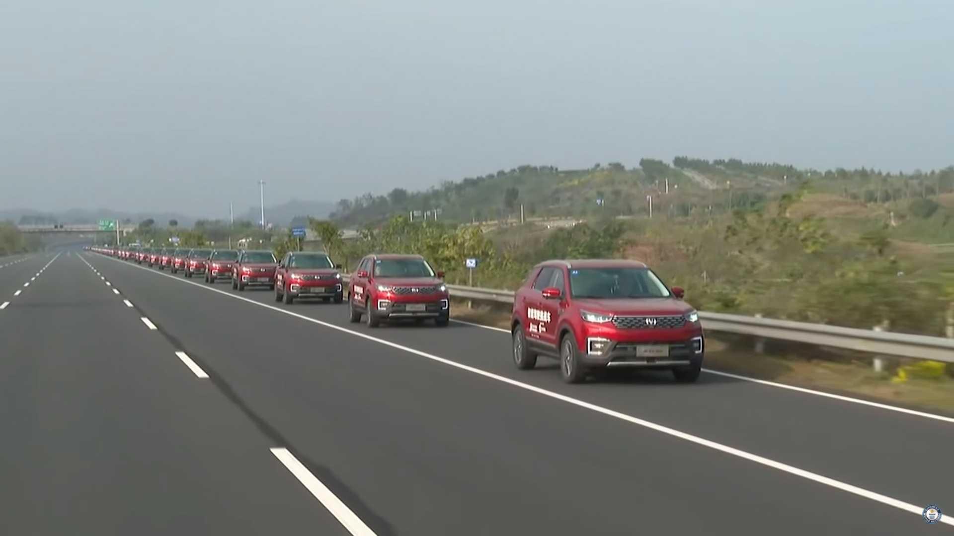 Kolona od 55 autonomnih SUV-a postavila Ginisov rekord (VIDEO)