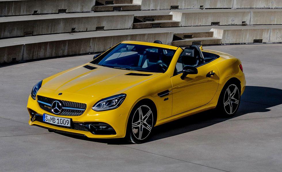 Mercedes se oprašta od modela SLC (nekada SLK)