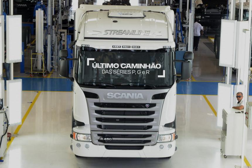 Kraj proizvodnje PGR serije Scania kamiona