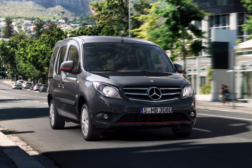 Mercedes Citan unapređen