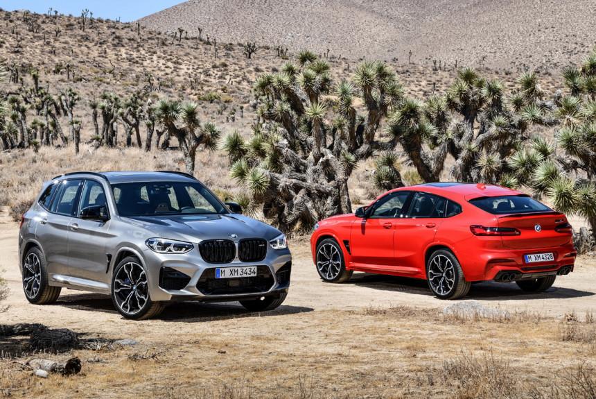 BMW X3 M i X4 M predstavljeni