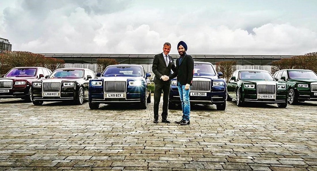 Britanski milijarder kupio šest Rolls-Royce modela kako bi mu se slagali sa turbanima
