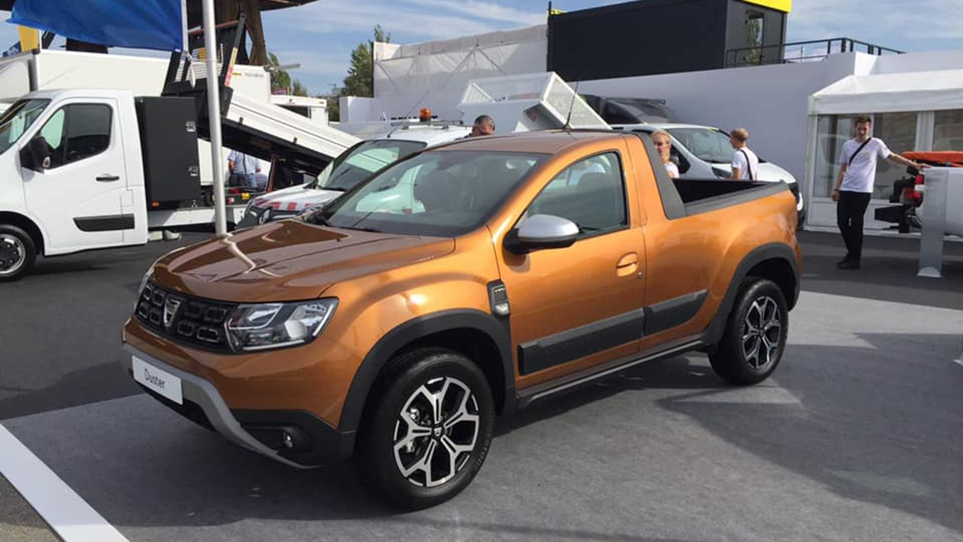 Dacia Duster u pikap varijanti spreman za premijeru