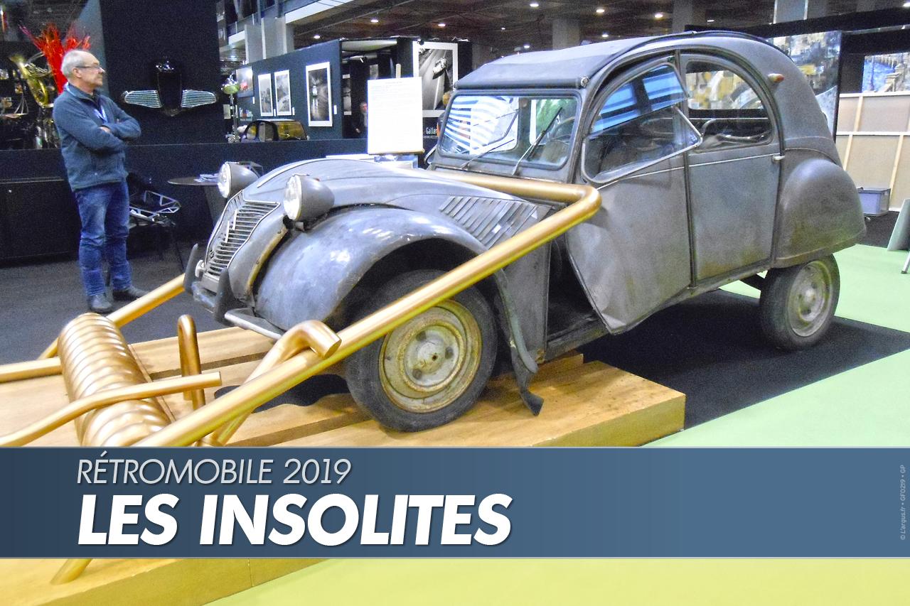 Salon retromobila u Parizu – najneobičniji primerci (GALERIJA)