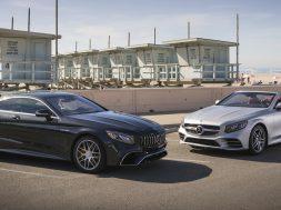 PFV die neue S-Klasse Cabriolet und S-Klasse Coupe Kalifornien 2017