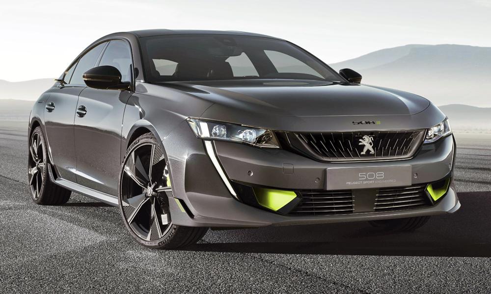 """Predstavljen """"nabrijani"""" Peugeot 508 u konceptnom izdanju"""