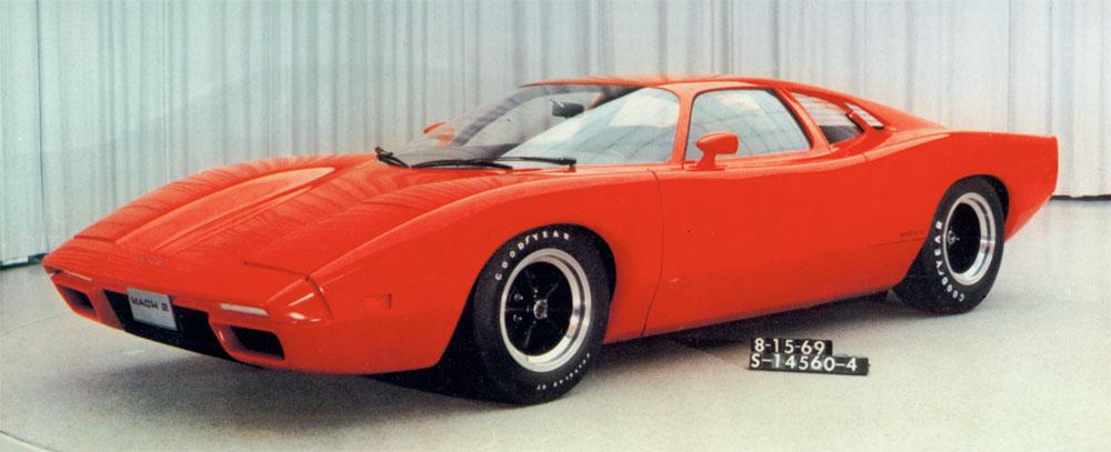 Zanimljivost dana: Ford Mach 2C koncept