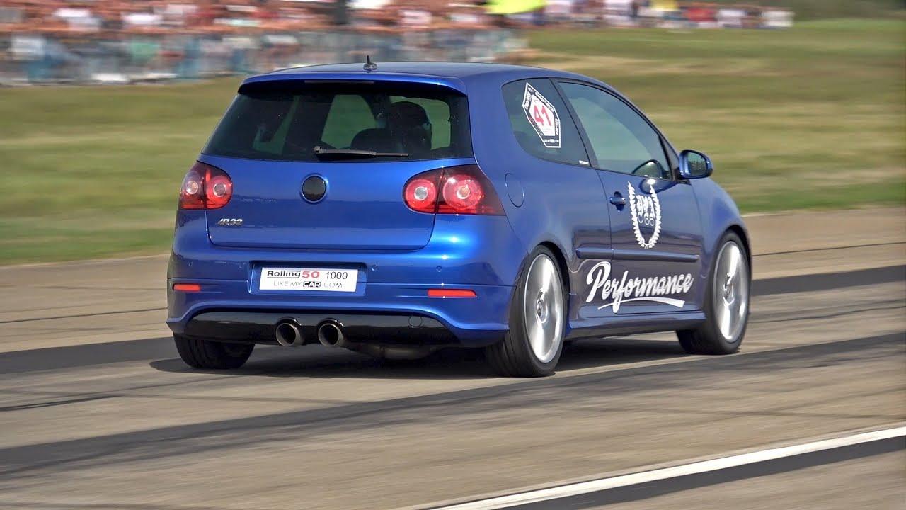 Kako izgleda kada se VW Golf R32 poigrava s rivalima (VIDEO)