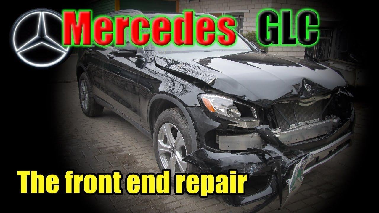 "Kako se od havarisanog Mercedes-Benza GLC pravi ""nov"" (VIDEO)"