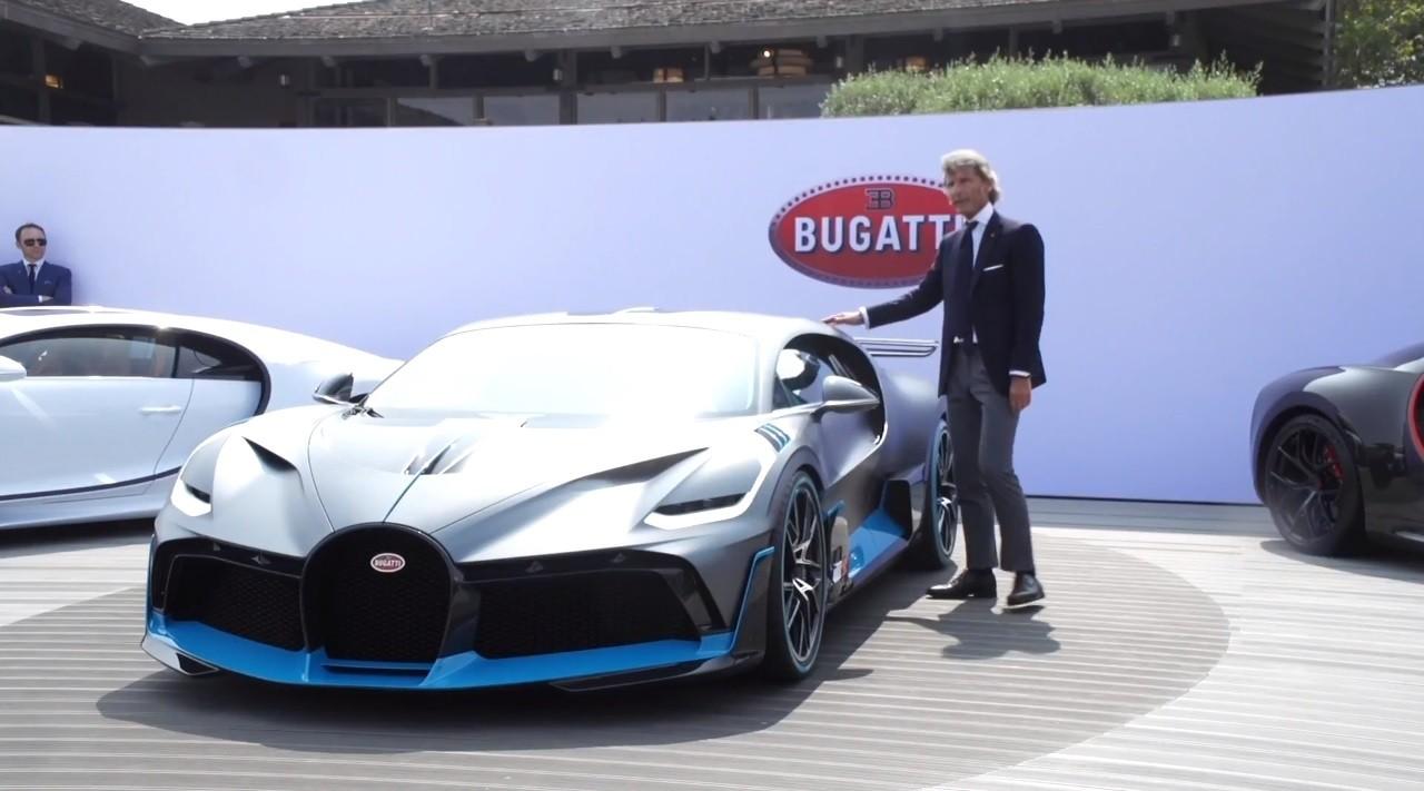 Bugatti (Atlantic) premijera uživo (VIDEO)