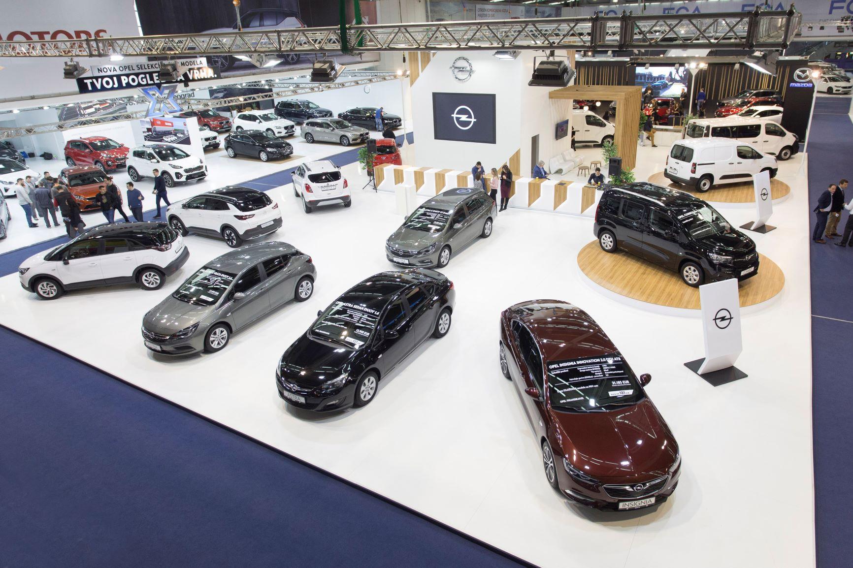 Opel u Beogradu: premijera Comboa