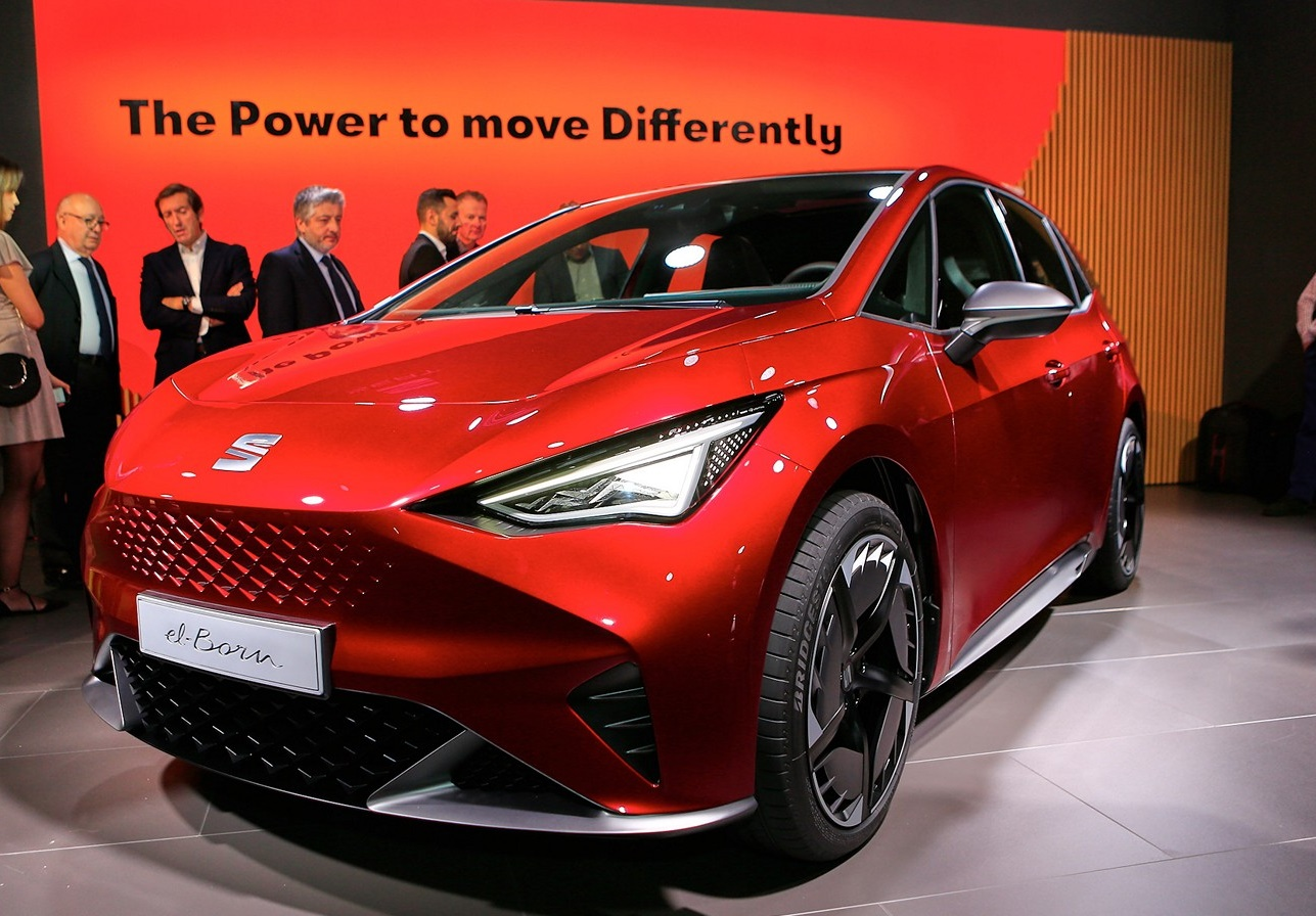 SEAT el-Born prethodnica prvog EV modela španske marke