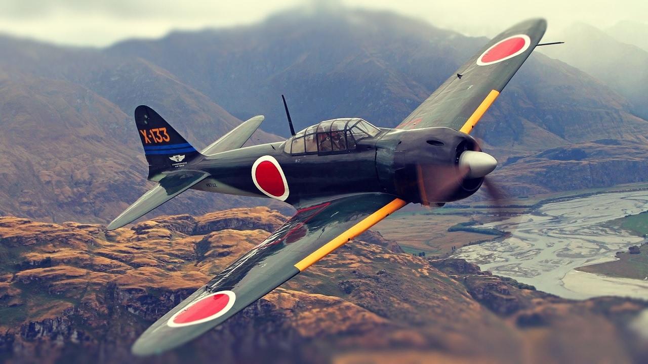 Mitsubishi A6M Rei-sen (Zero) – japanska legenda iz Drugog svetskog rata