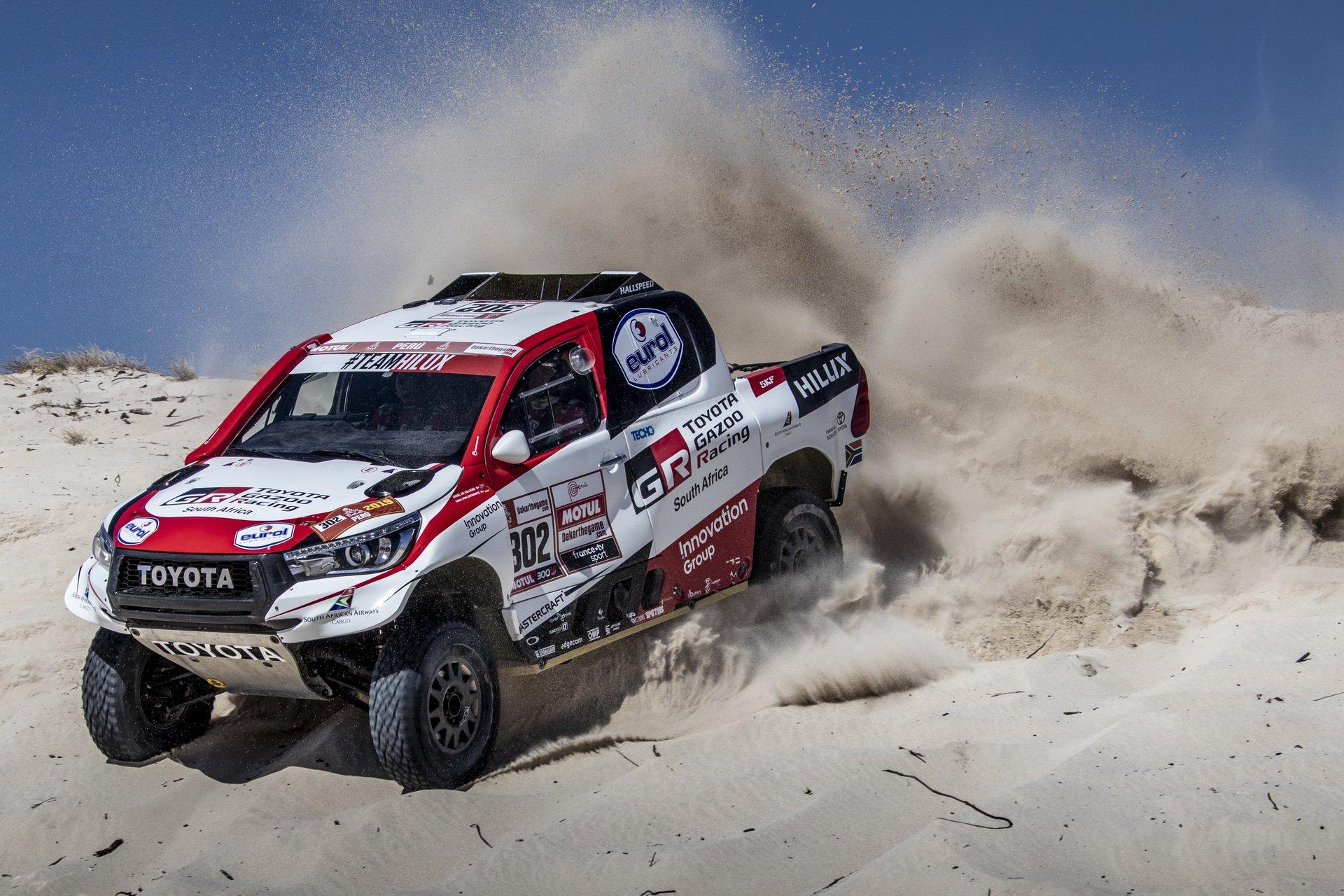 Fernando Alonso testira vozilo za Dakar