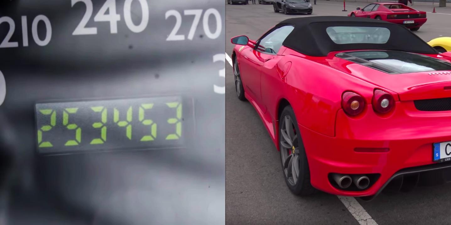 Zanimljivost dana: Ferrari F430 sa 253.000 km na satu