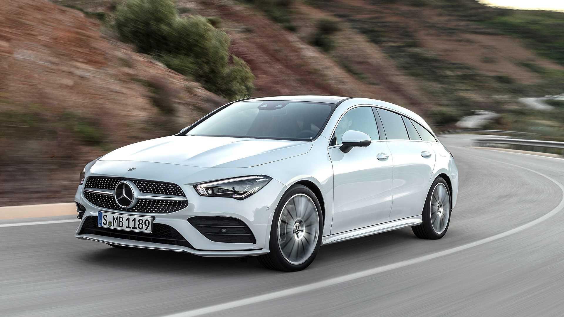 Mercedes-Benz CLA Shooting Brake – duži, širi i niži nego ranije (GALERIJA)