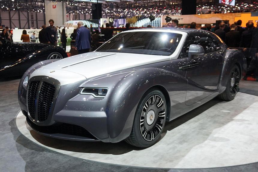 Eadon Green ZRR Coupe je modifikovani Rolls-Royce