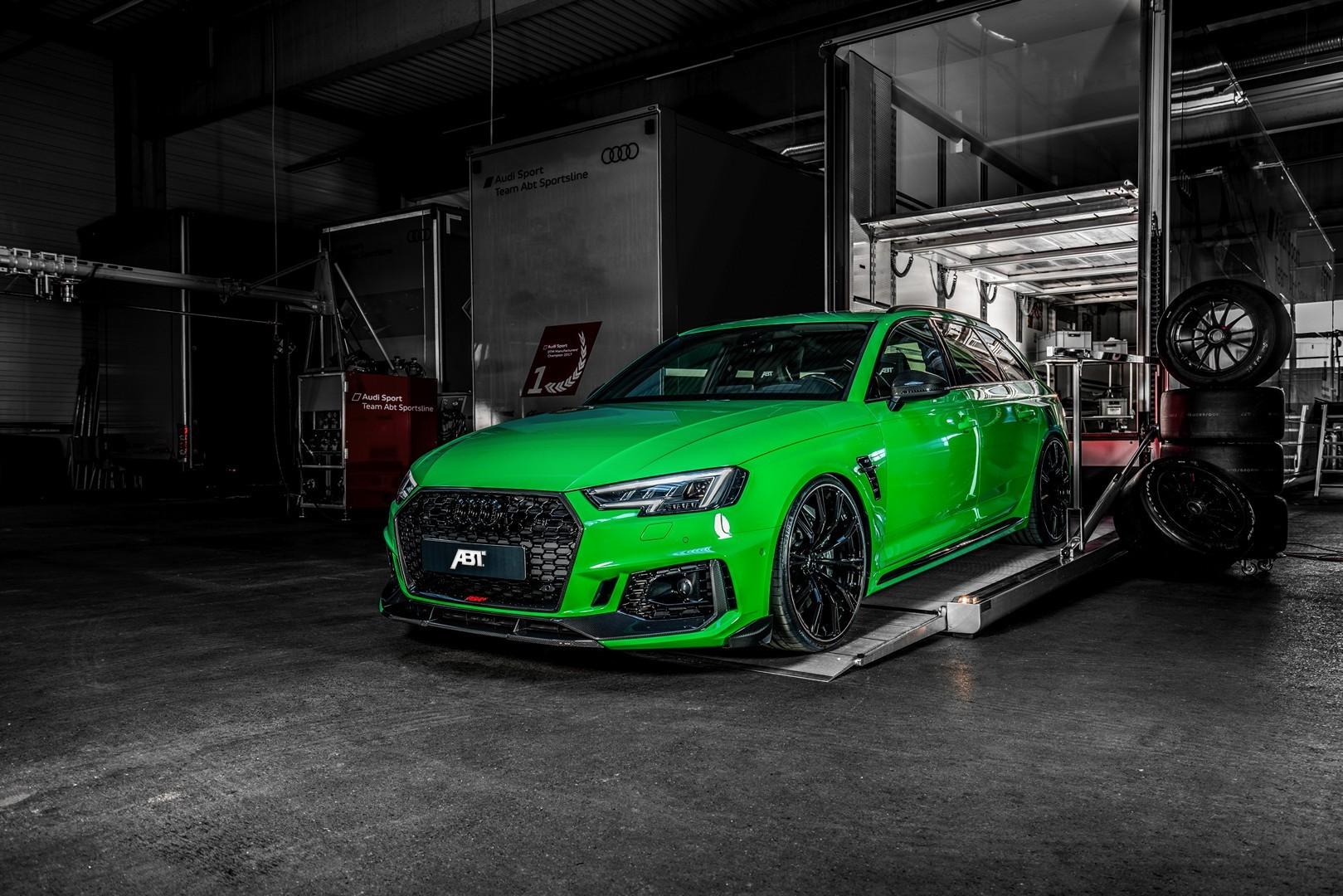Švapski Halk: ABT Audi RS4+ (GALERIJA)