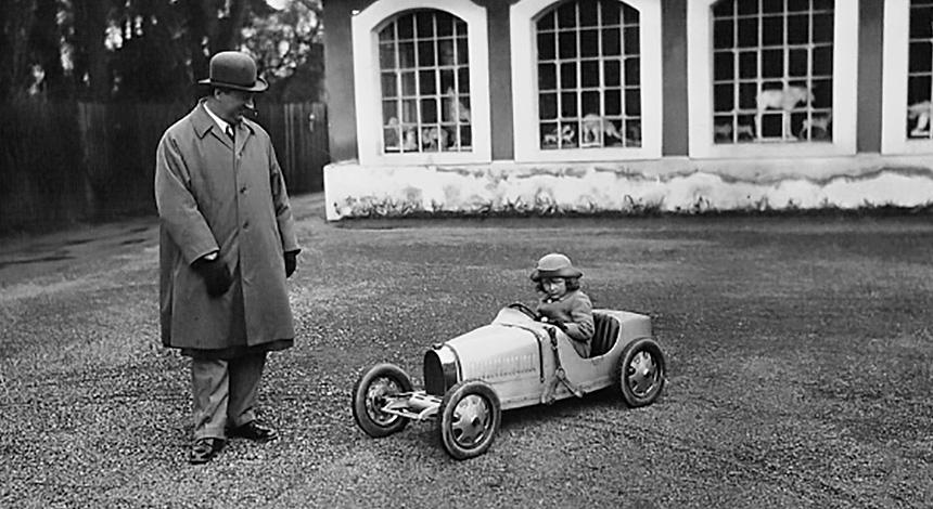 Zanimljivost dana: Bugatti Baby nekad i današnji sa sufiksom II