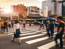Seoul downtown/ Verkehr