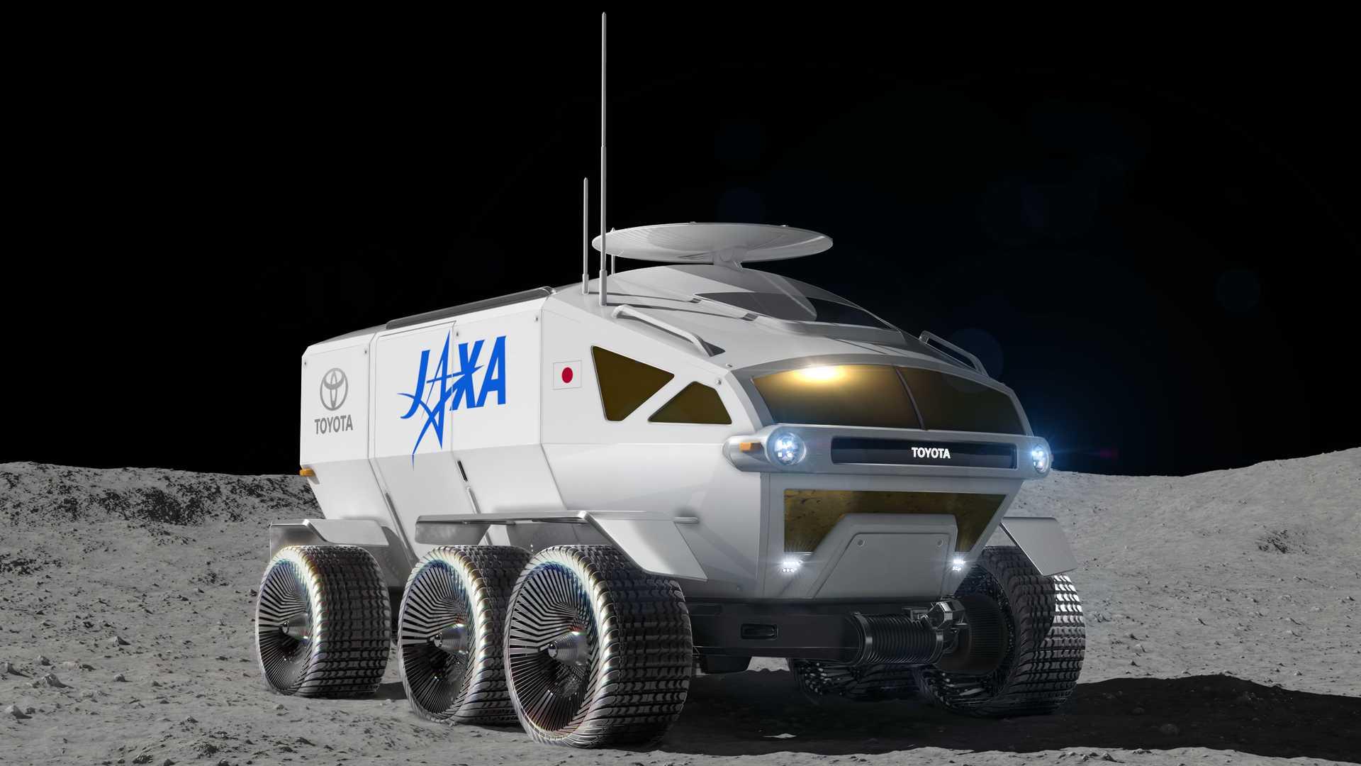Toyota razvija vozilo za kretanje po Mesecu i Marsu (GALERIJA)