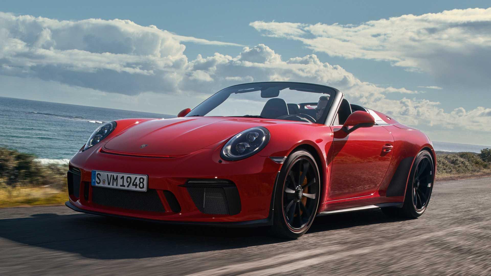 Debitovao je Porsche 911 Speedster!