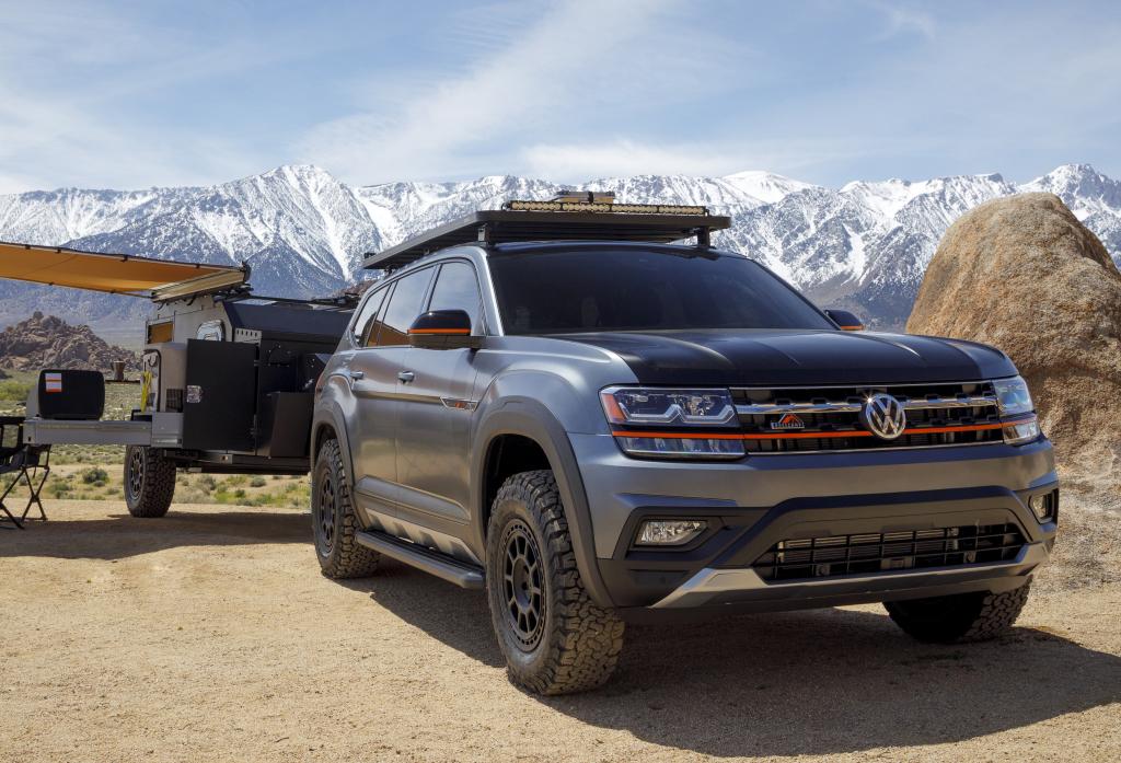 Volkswagen u Americi predstavio proterenski koncept Atlas Basecamp