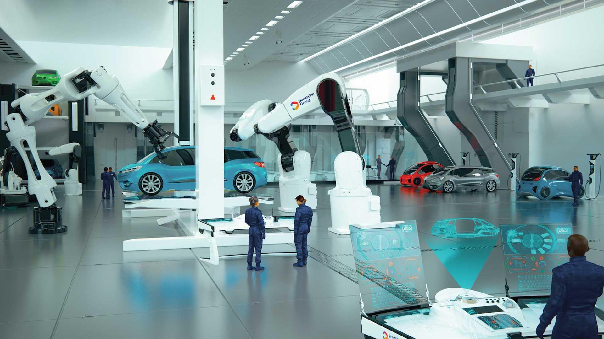 Automehaničarska radionica budućnosti