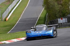 Volkswagen ID. R completes its first test on the Nordschleife